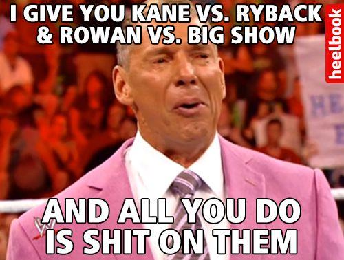 O Vince McMahon é um incompreendido…