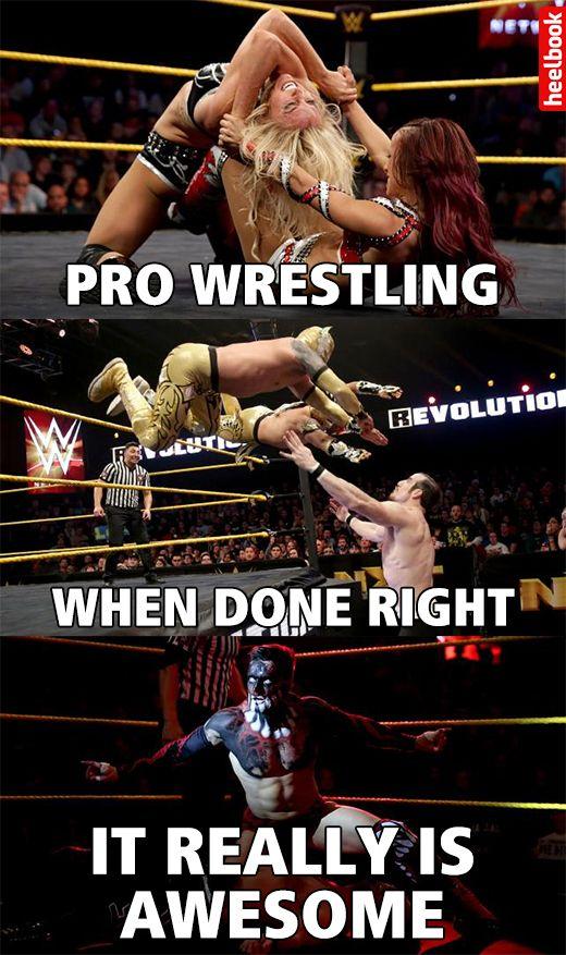 NXT: Revolution in 11 Bona Fide Wrestling Memes - Heelbook