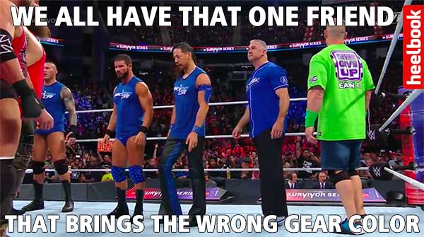Survivor Series in Memes Starring: AJ Styles and Stephanie ...